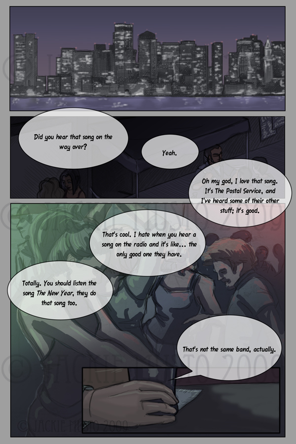 Kay and P: Issue 00, Page 01
