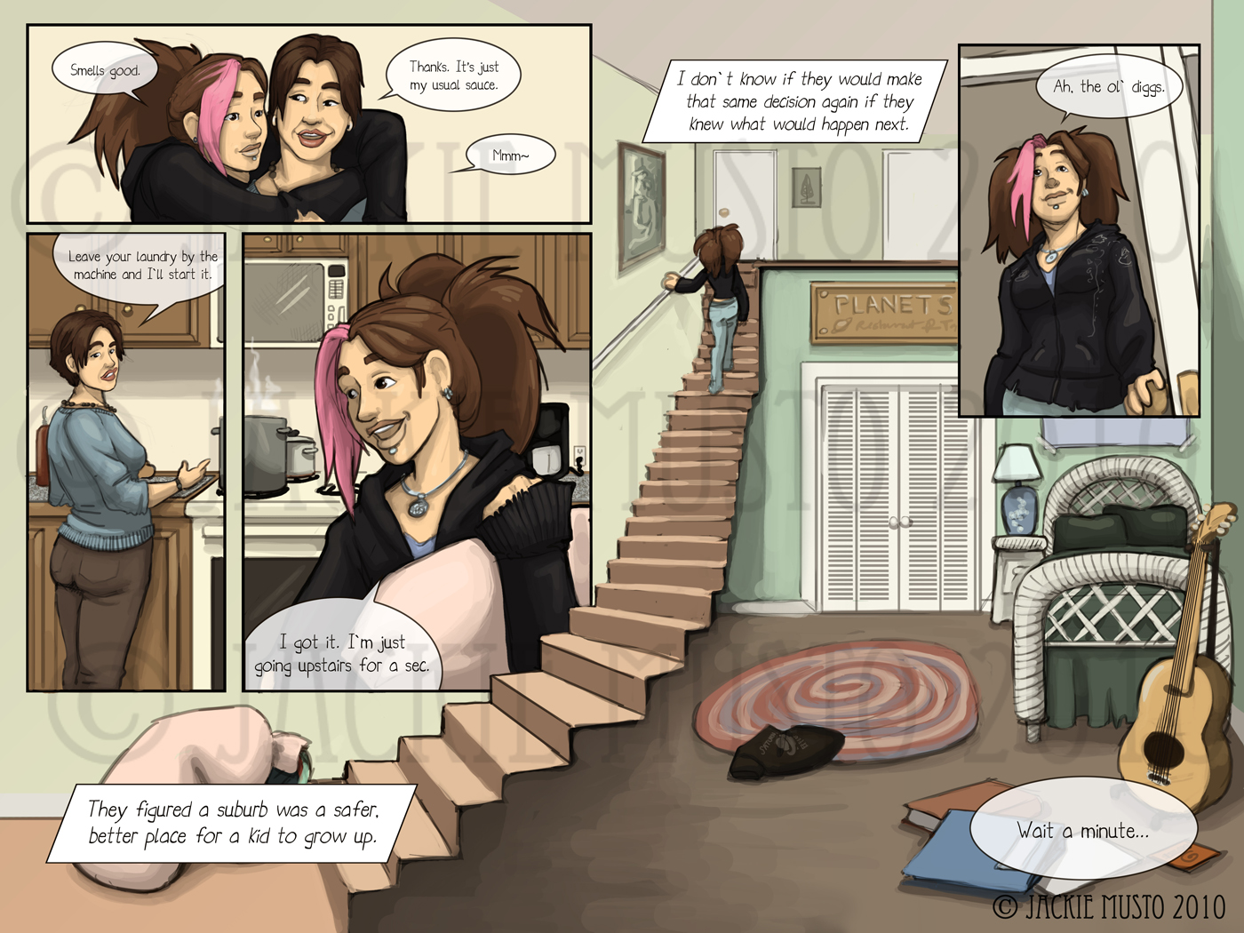 Kay and P: Issue 01, Page 14-15