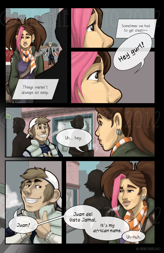 Kay and P: Issue 06, Page 03