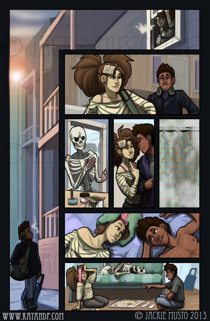 Kay and P: Issue 09, Page 14