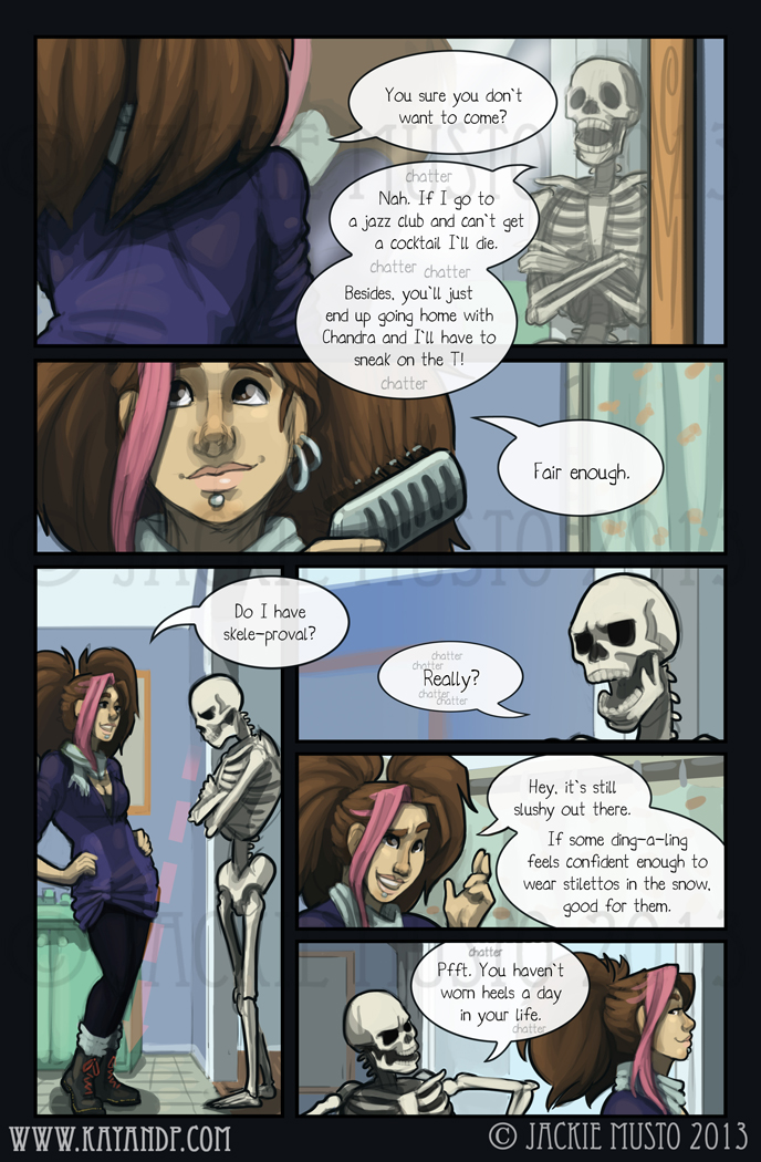 Kay and P: Issue 09, Page 18