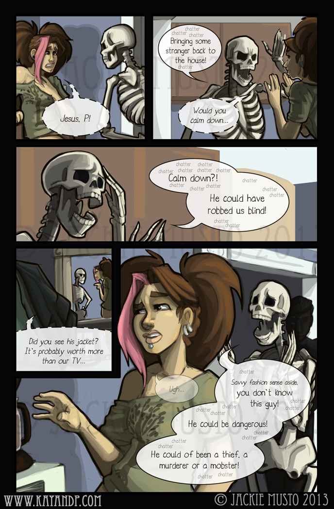 Kay and P: Issue 09, Page 23