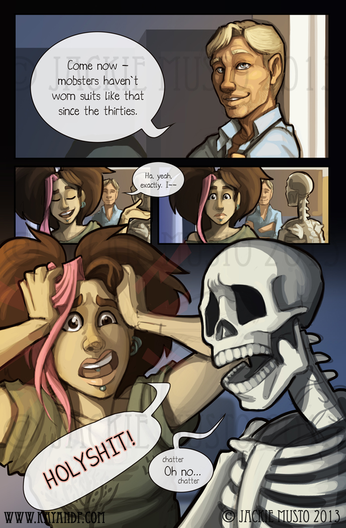 Kay and P: Issue 09, Page 24