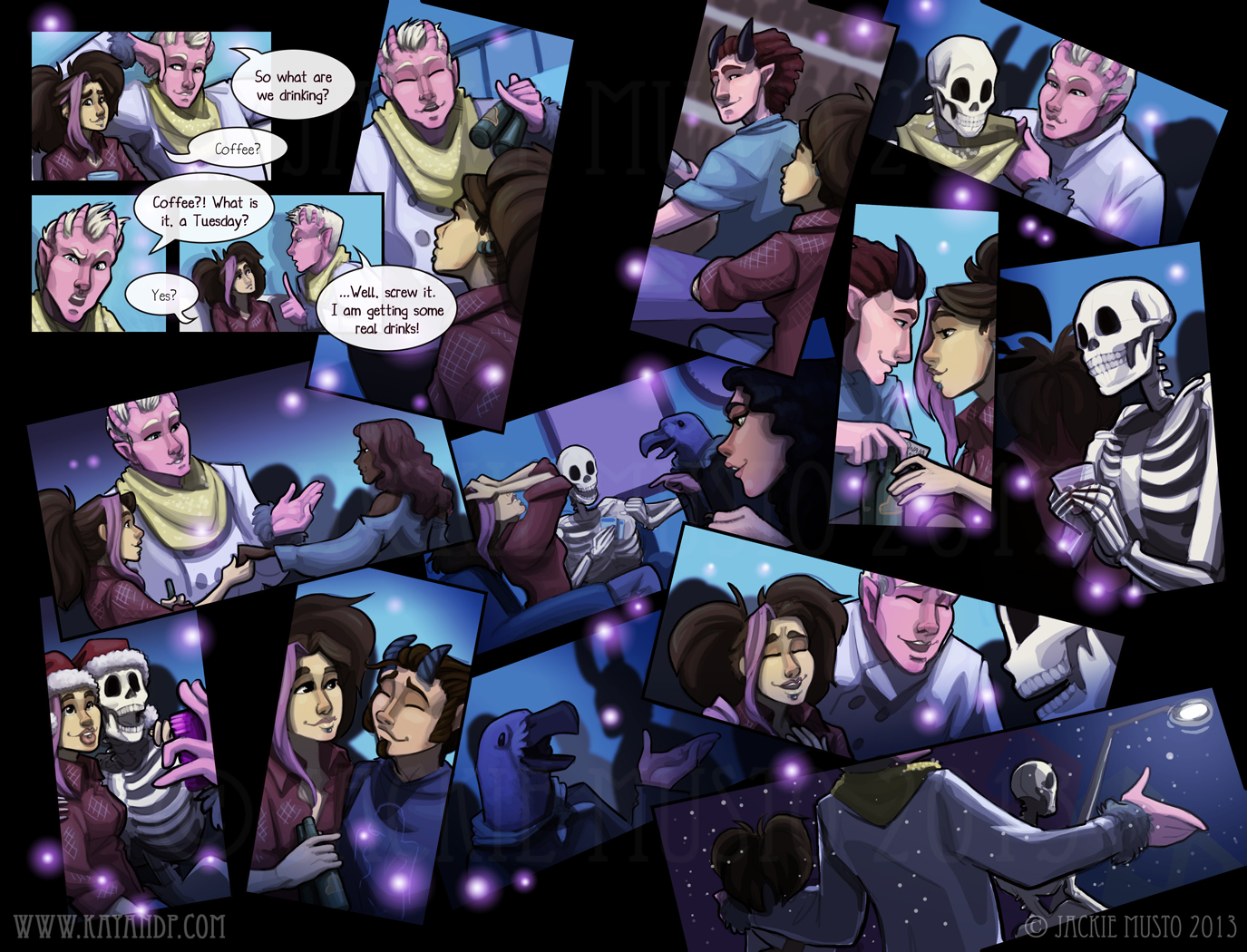 Kay and P: Issue 11, Page 20-21