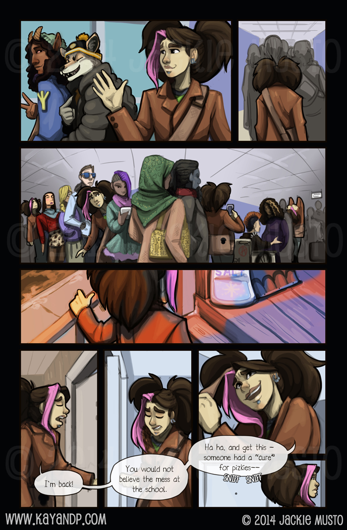 Kay and P: Issue 12, Page 23