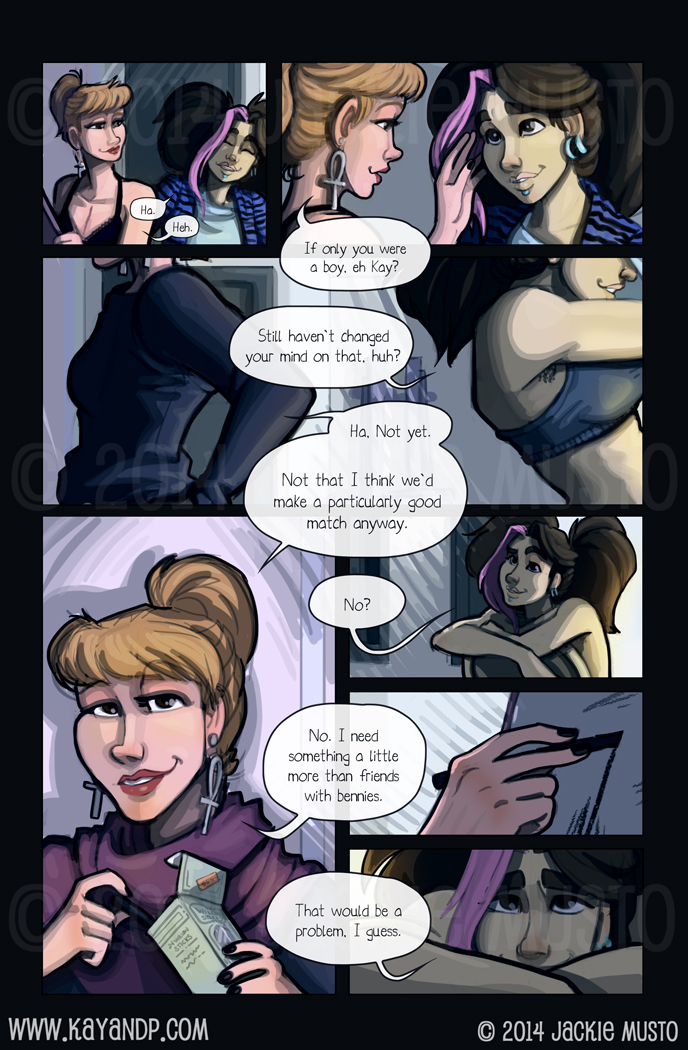 Kay and P: Issue 13, Page 24