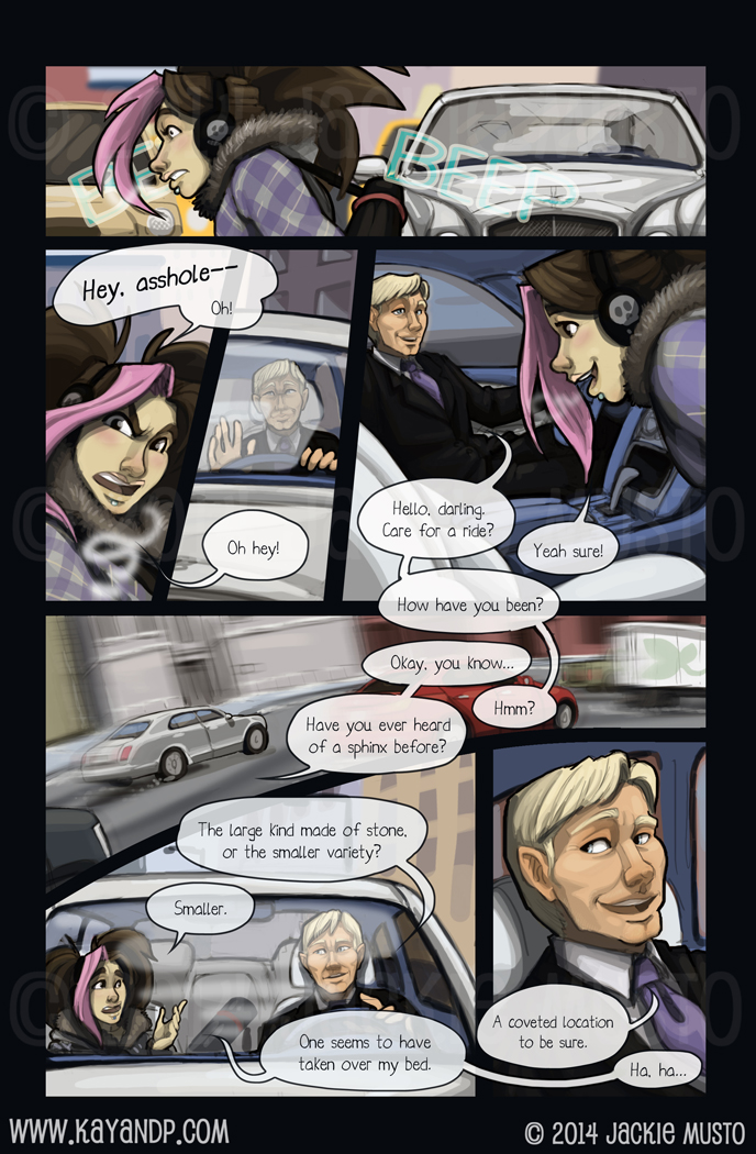 Kay and P: Issue 13, Page 28