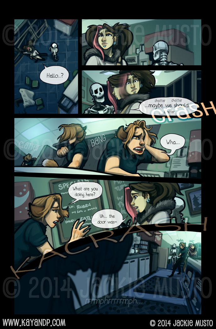 Kay and P: Issue 14, Page 17