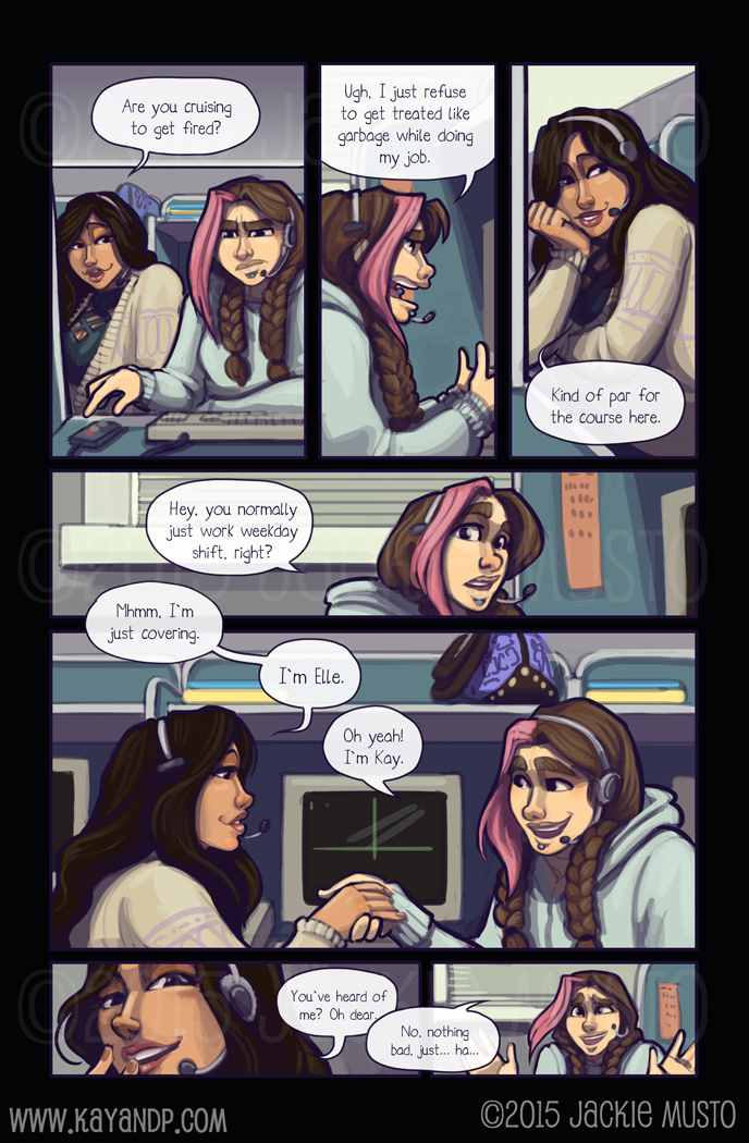 Kay and P: Issue 15, Page 24