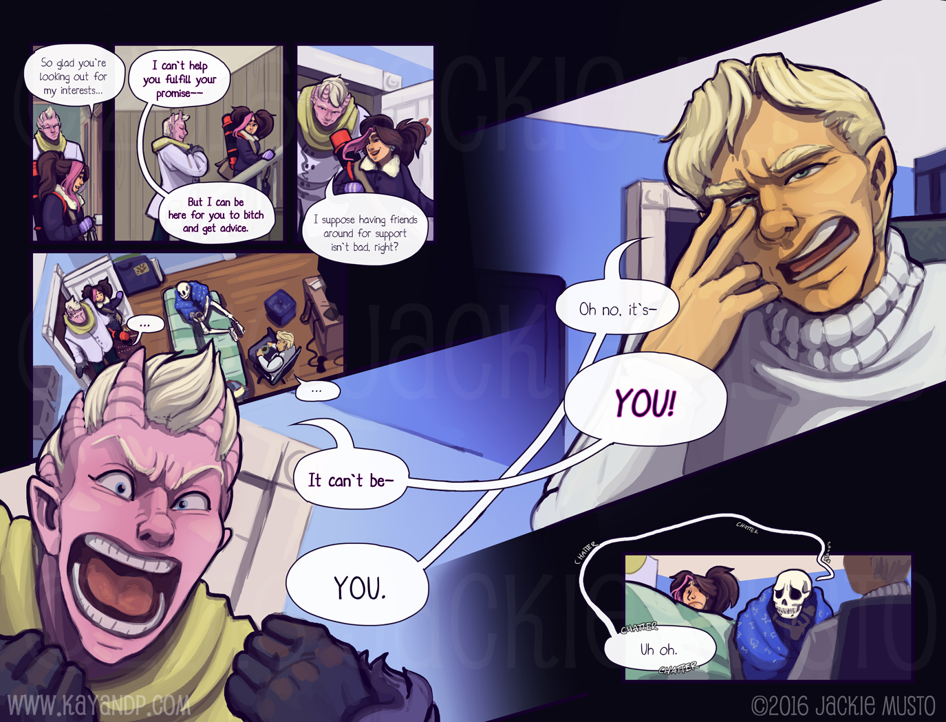 Kay and P: Issue 20, Page 16-17
