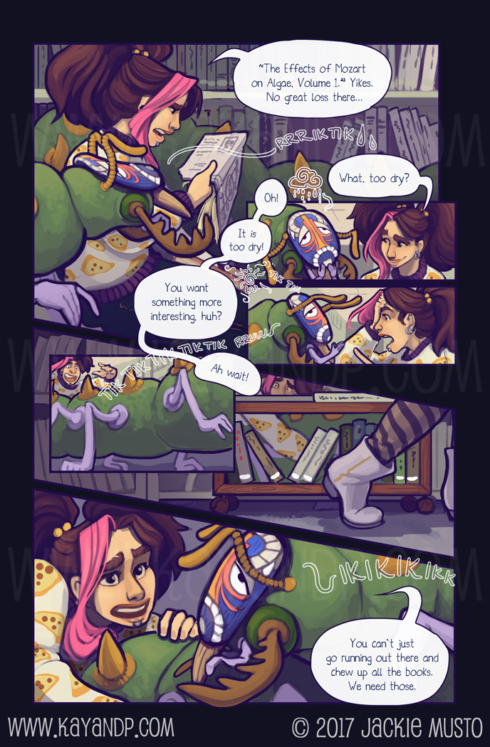 Kay and P: Issue 21, Page 09