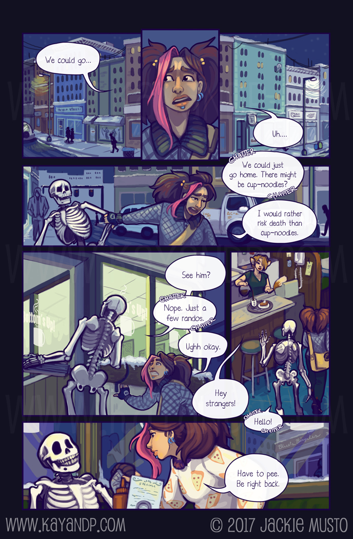 Kay and P: Issue 21, Page 16