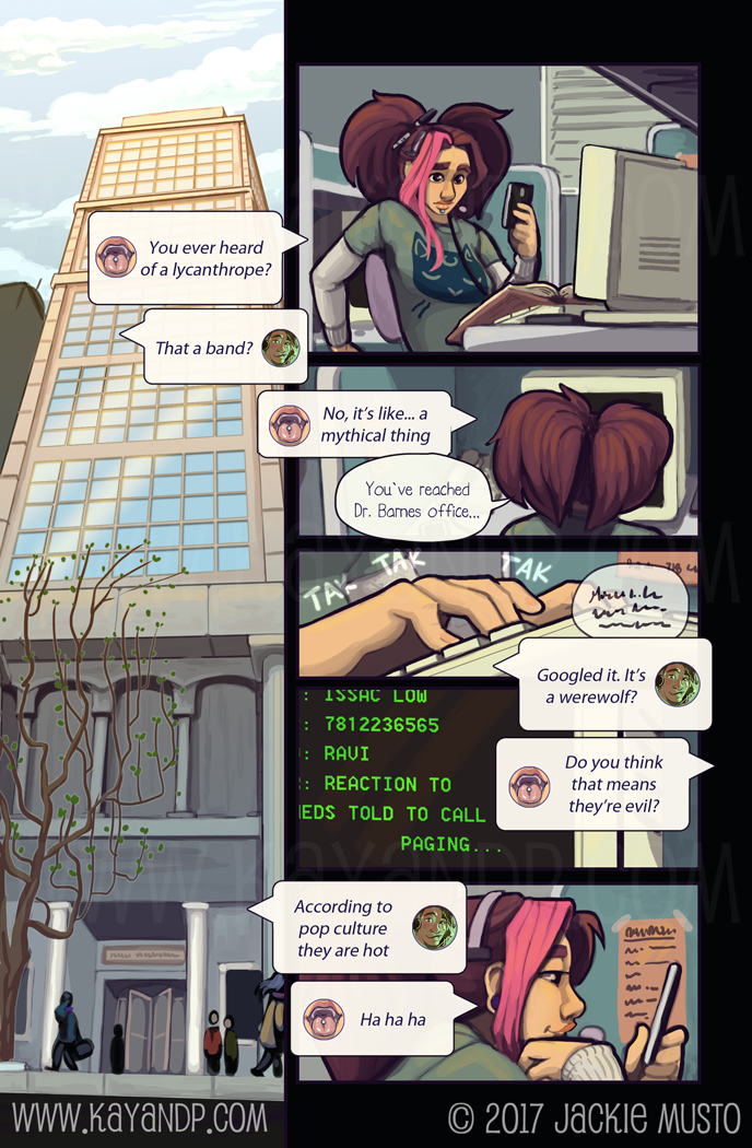 Kay and P: Issue 21, Page 22