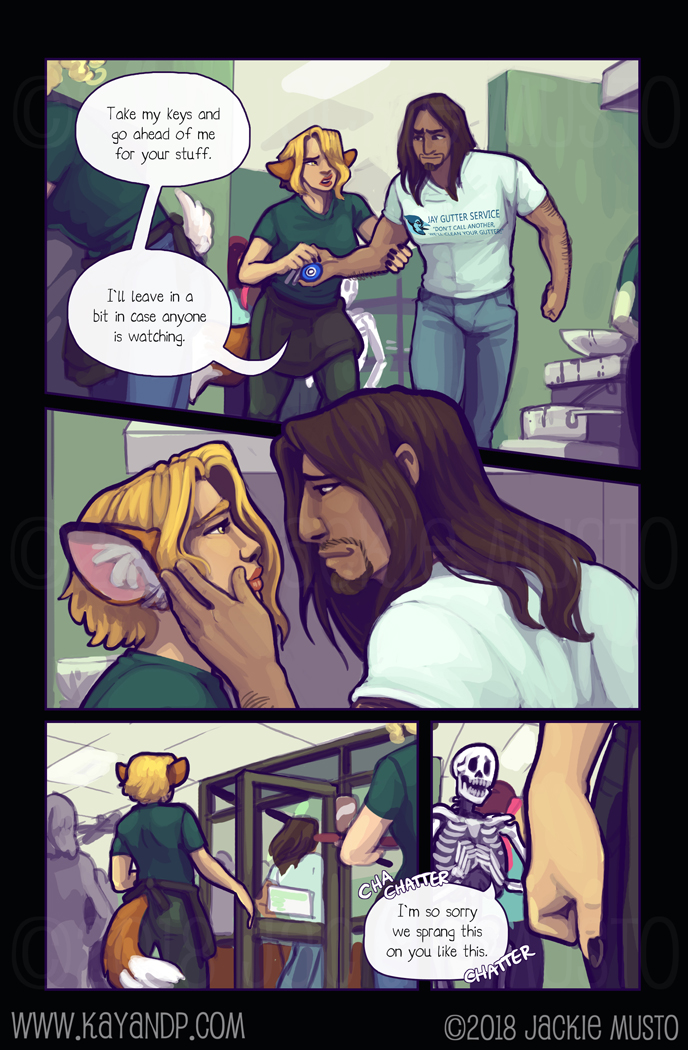 Kay and P: Issue 24, Page 18