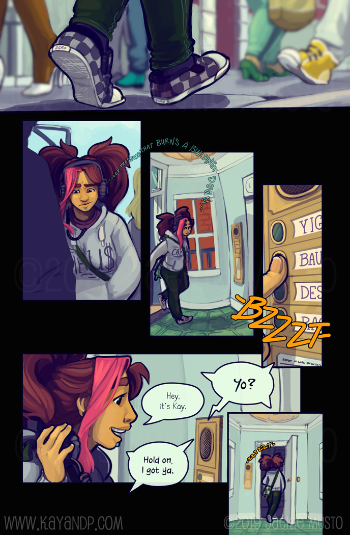 Kay and P: Issue 25, Page 12